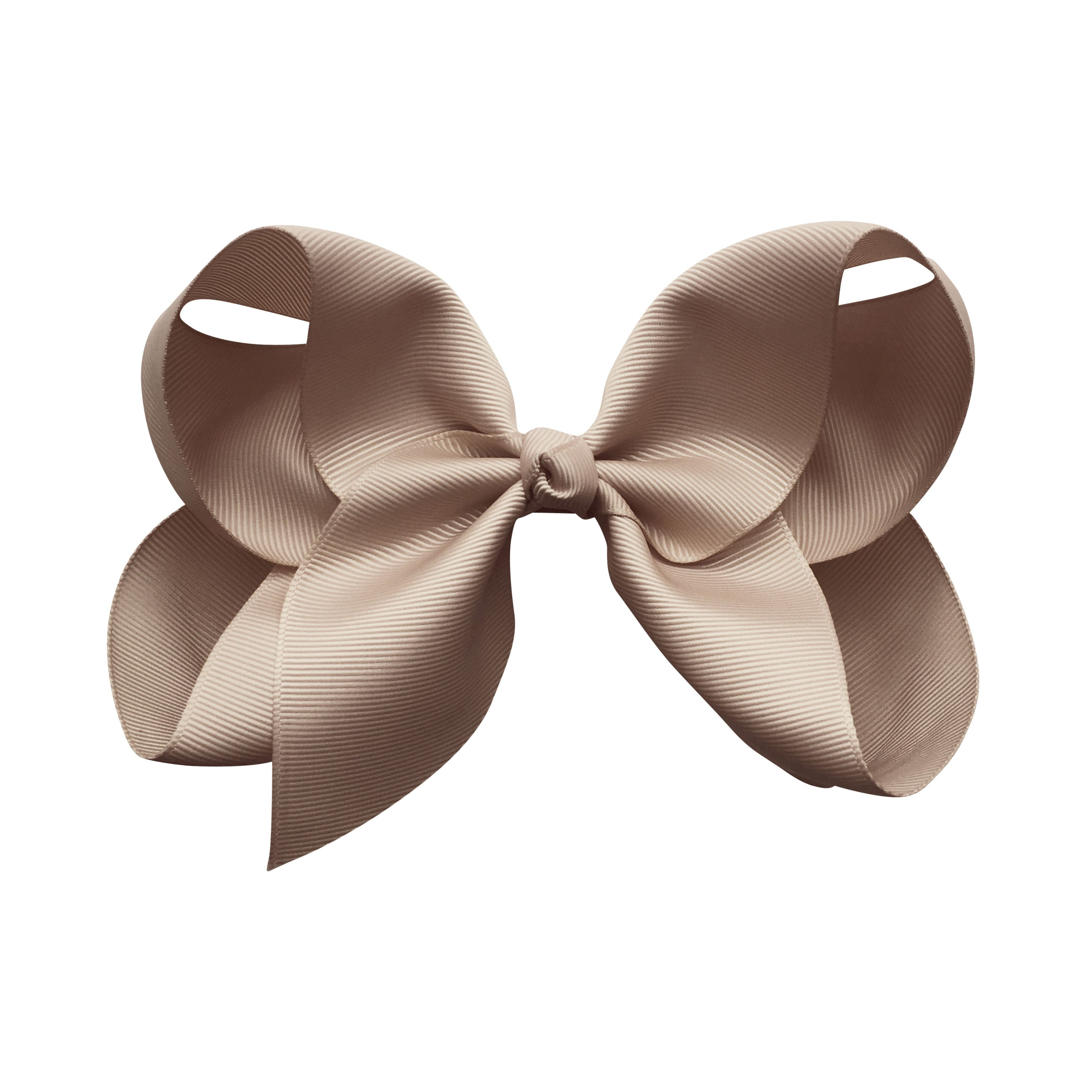 Image of Jumbo Boutique Bow - alligator clip - ginger snap