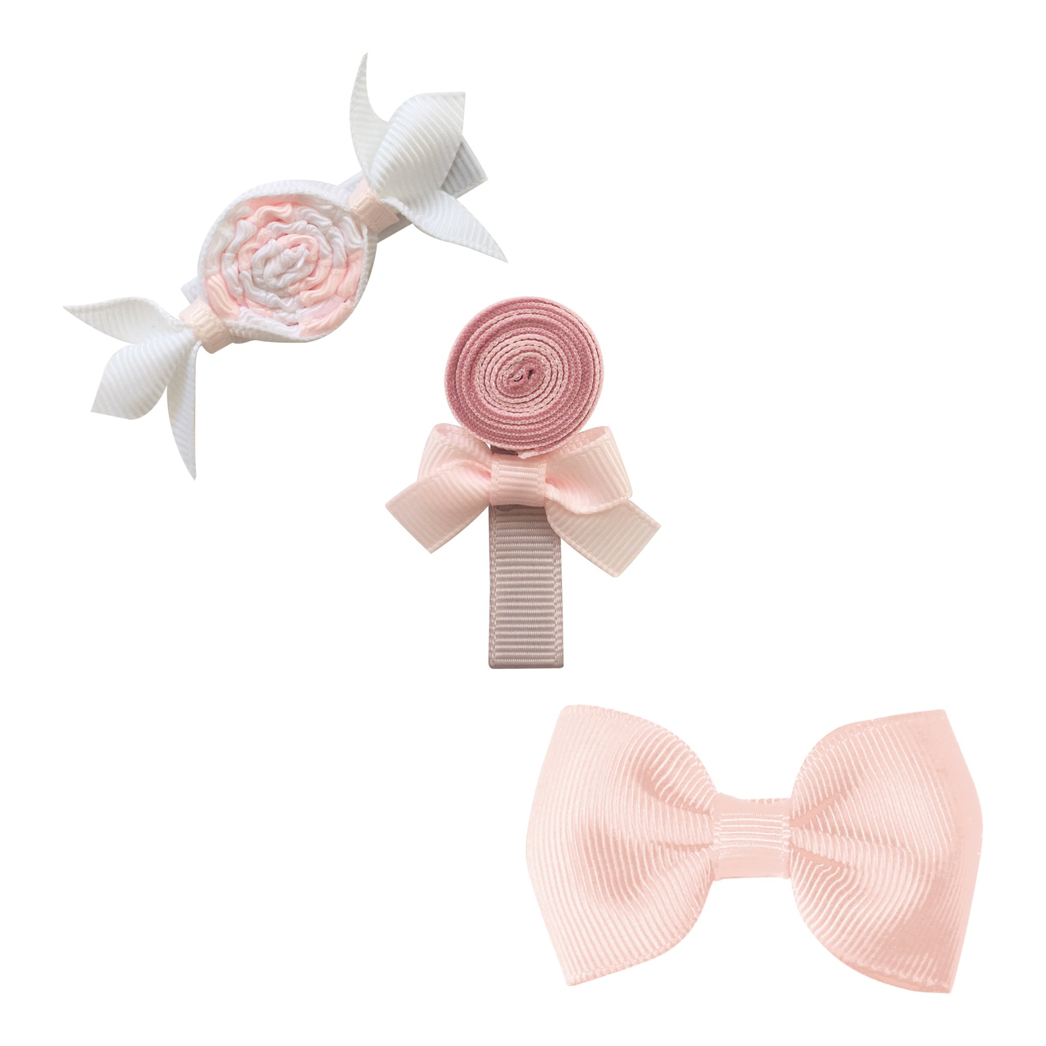 Image of Milledeux® Candy Collection gift set - Bonbon, Lollipop and Bow - Powder pink