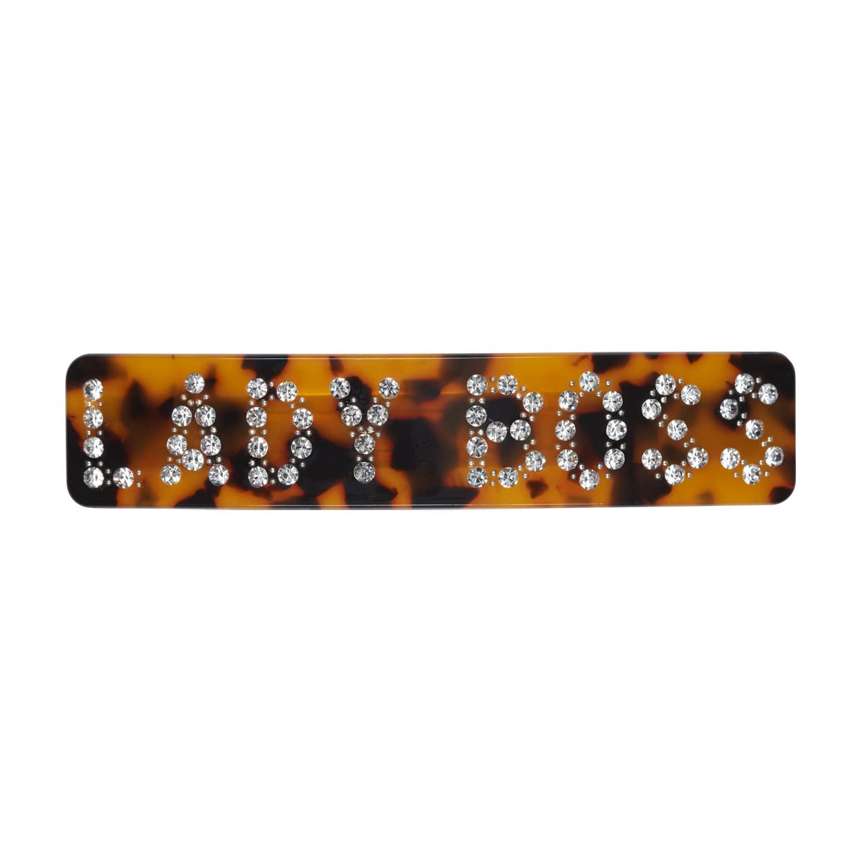 Image of Hair Barrette with crystals - Tortoise / Lady Boss