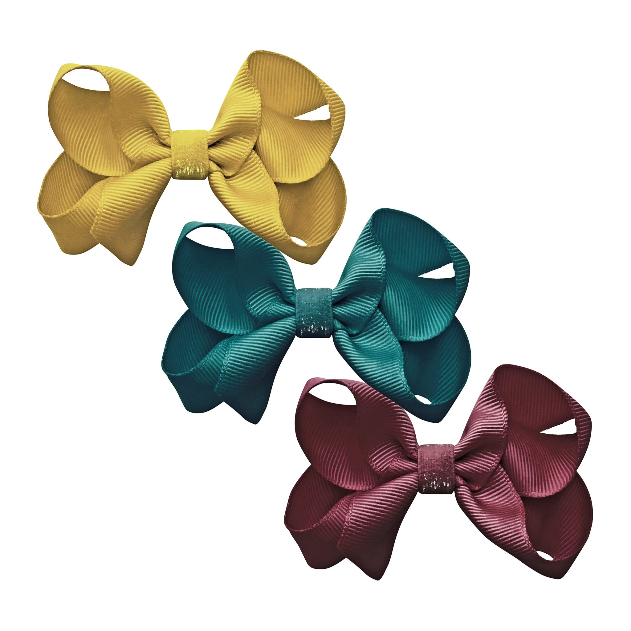 Image of Milledeux® gift set - Colored Glitter Collection - 3 Medium boutique bows - A129