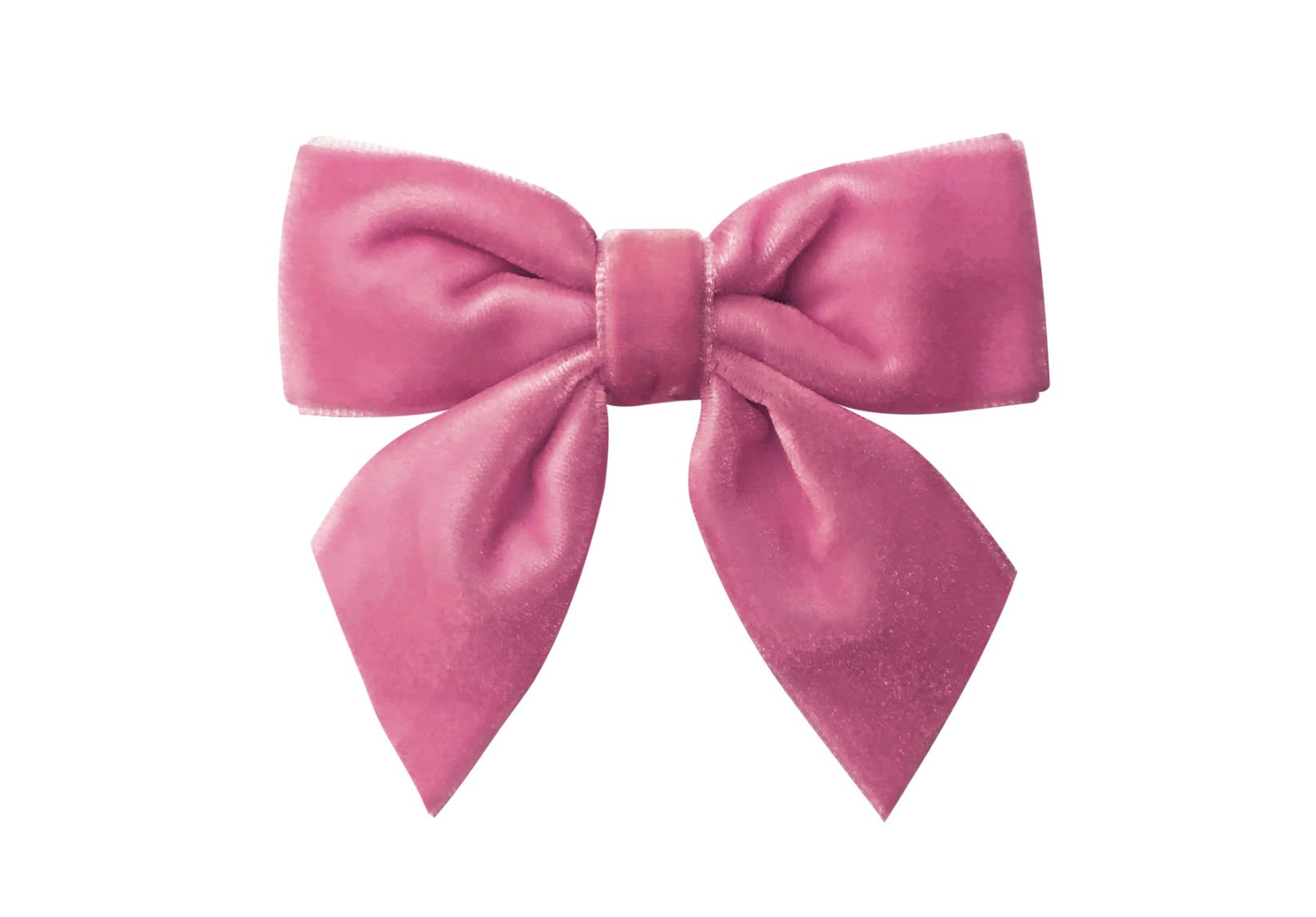 Medium Bowtie with Tails – Alligator Clip