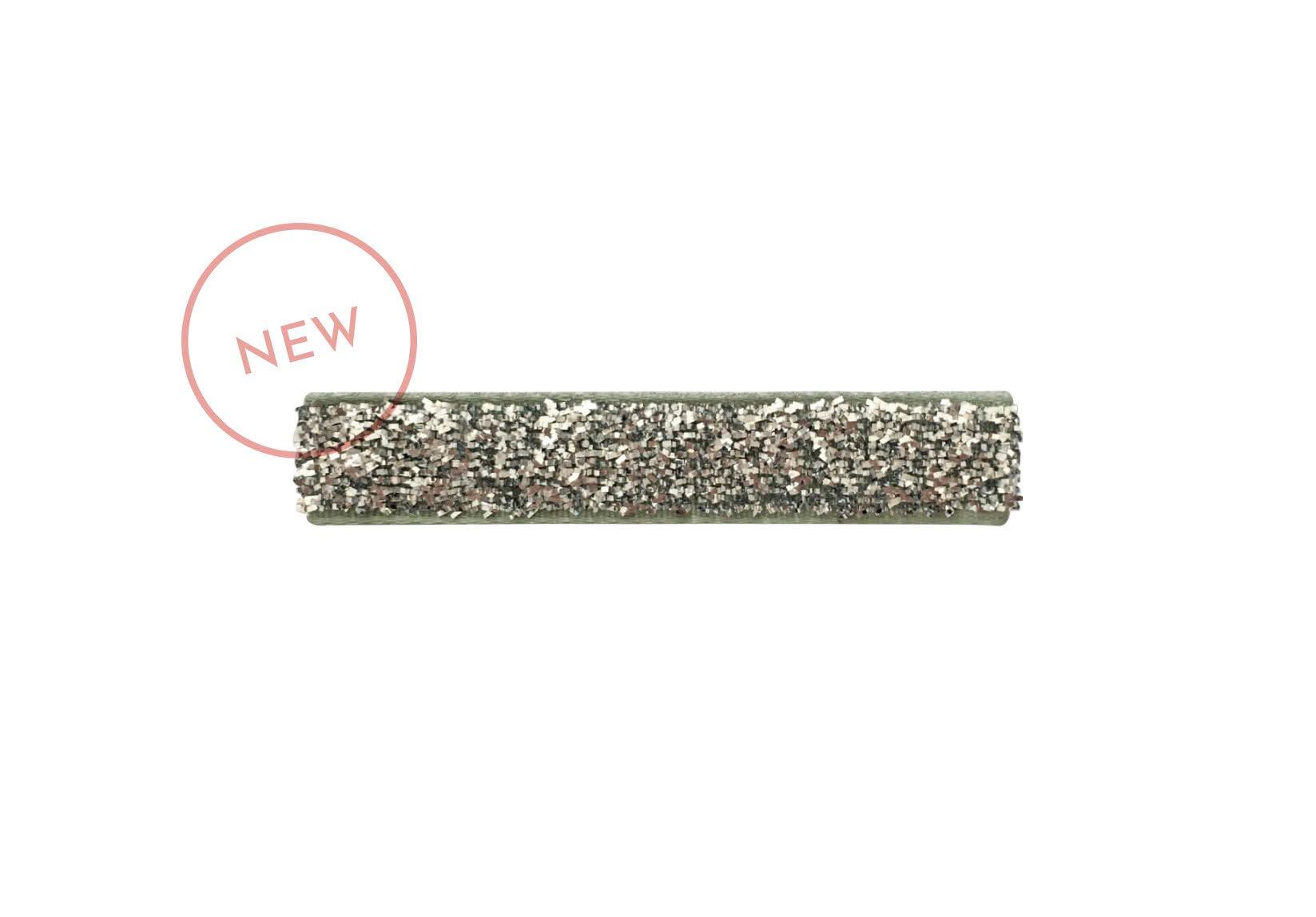 Medium Glitter Covered Alligator Clip