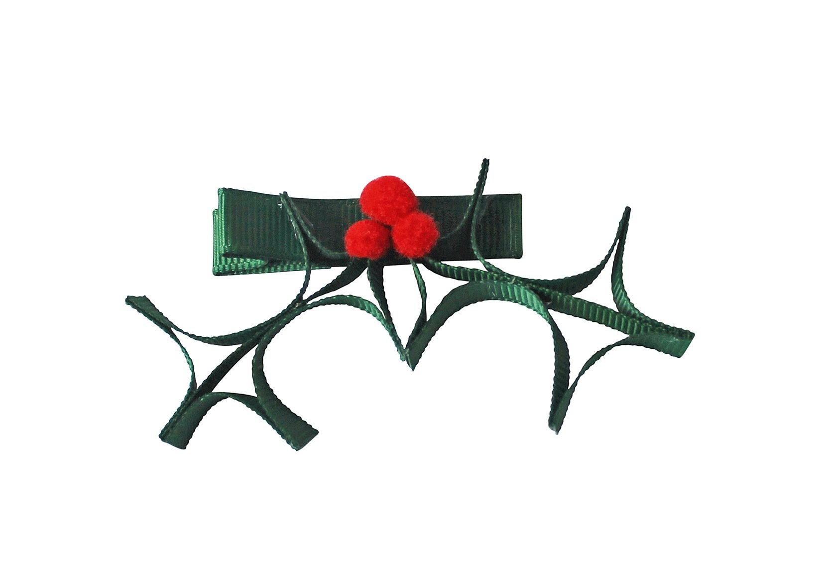 Christmas Holly – Alligator Clip