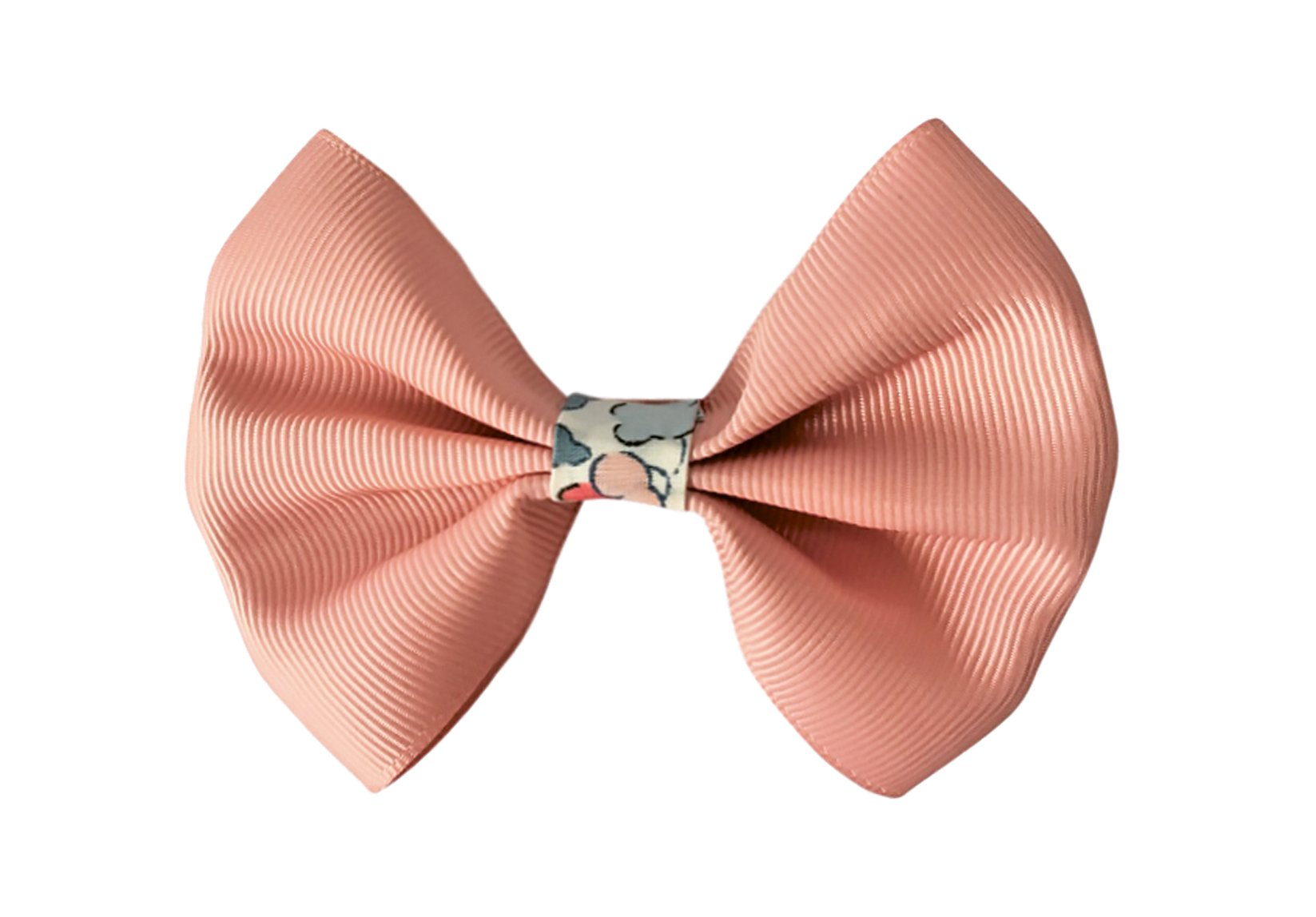 Large Grosgrain Bowtie Bow with Liberty Middle – Alligator Clip