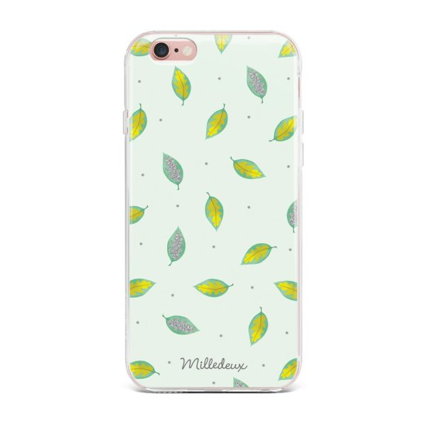 Milledeux Phone Cover – Colored Glitter Pattern – Large Colored