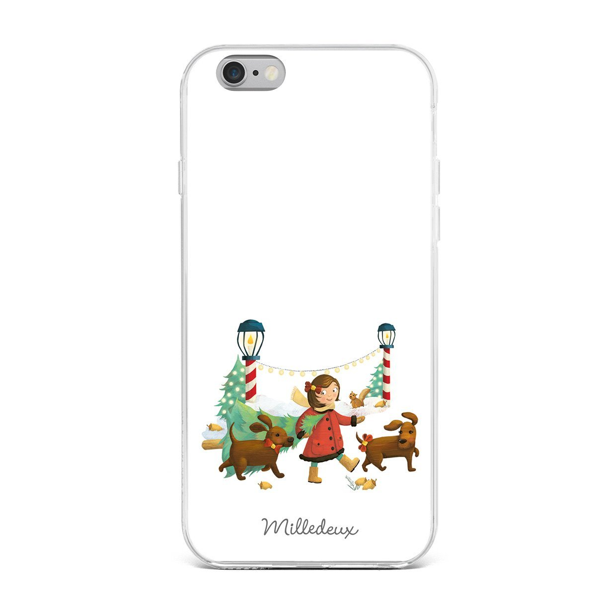 Milledeux® iPhone Cover 6/6S/7/8/Plus – Classic Christmas Pattern ...