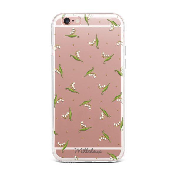 Phone Cover – Velvet Pattern – Large Clear