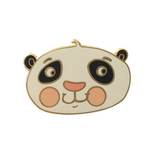 Panda pin badge