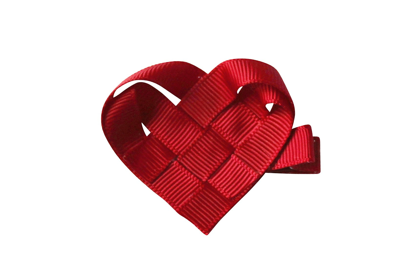 Heart – Alligator Clip – Classic Christmas Collection