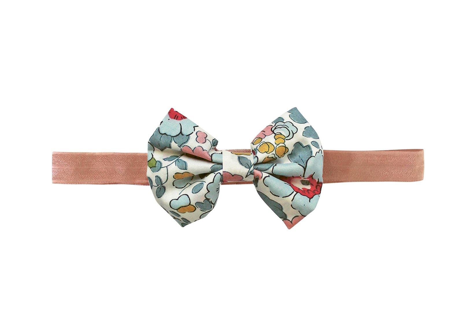 Small Bowtie Bow – Elastic Hairband