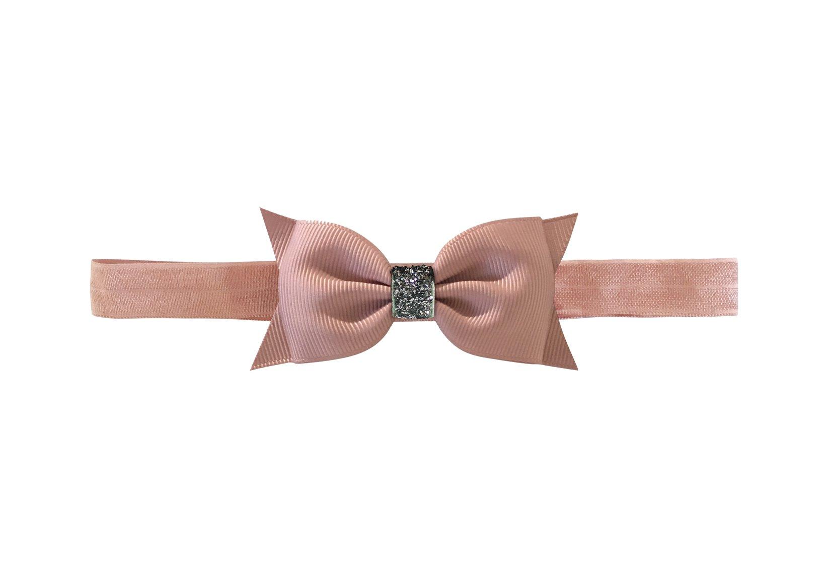 Double Bowtie Bow – Elastic Hairband