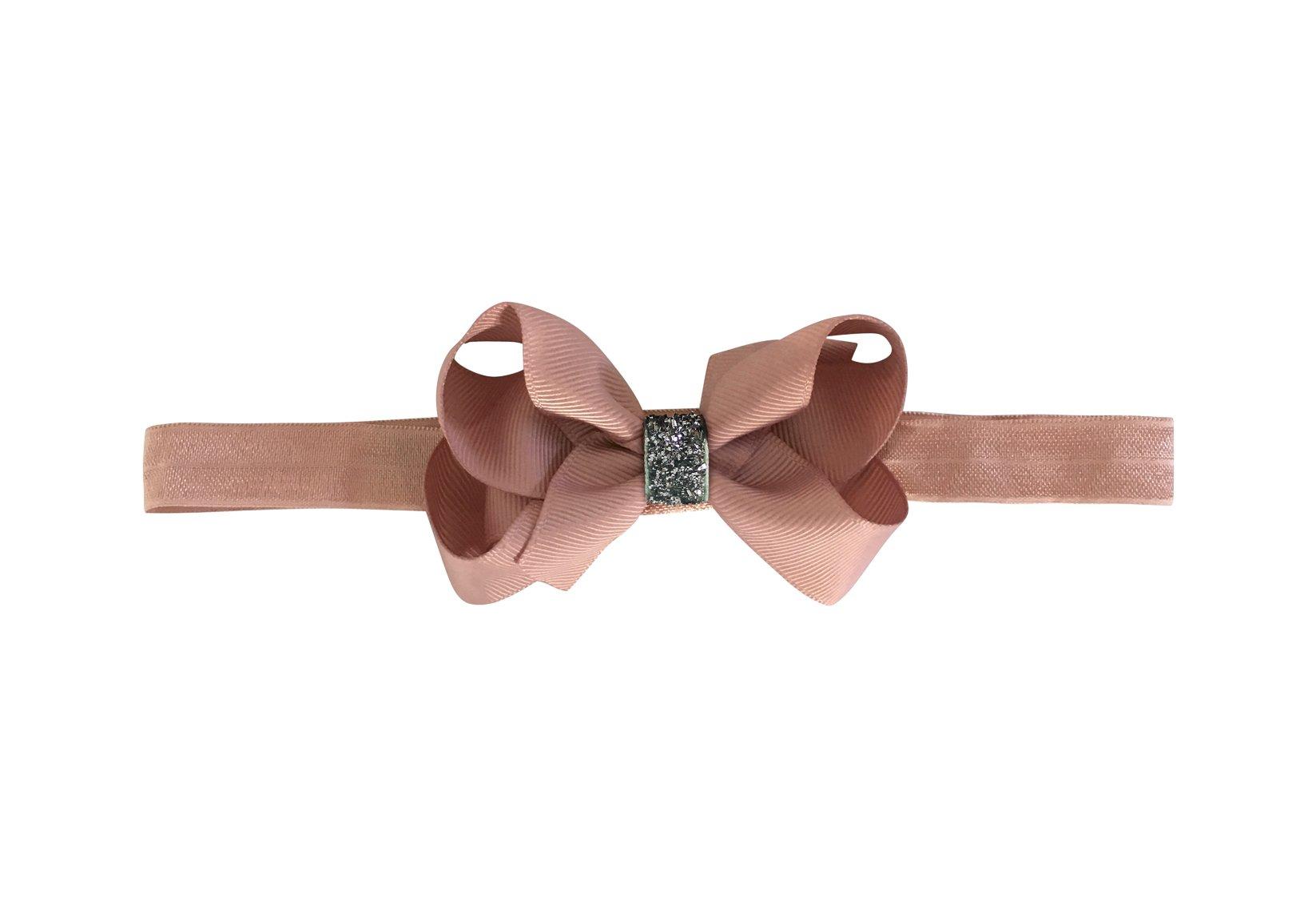 Medium Boutique Bow – Elastic Hairband