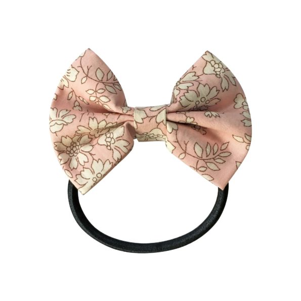 Small bowtie bow – elastic band – Liberty Capel S