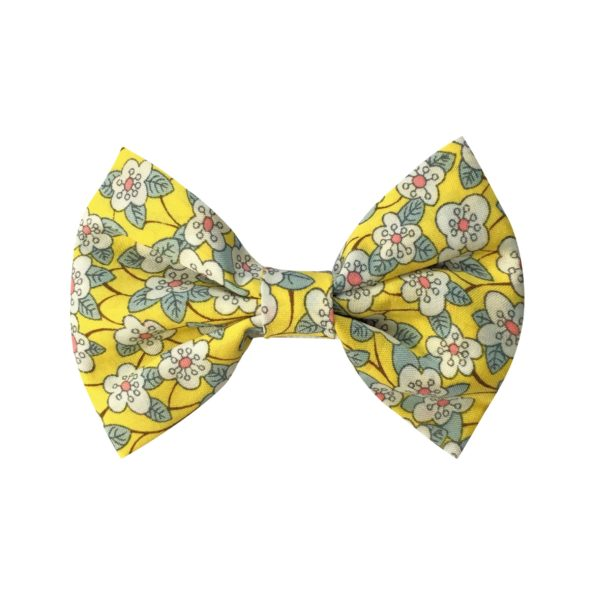 Small bowtie bow – alligator clip – Liberty Ffion B