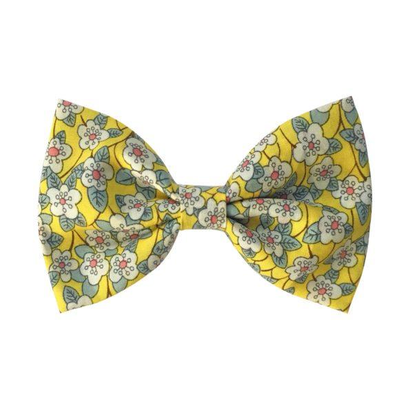 Large bowtie bow – alligator clip – Liberty Ffion B