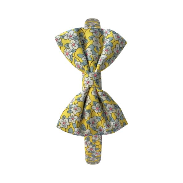 Large bowtie – hairband – Liberty Ffion B