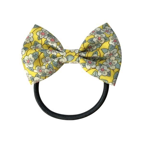 Small bowtie bow – elastic band – Liberty Ffion B