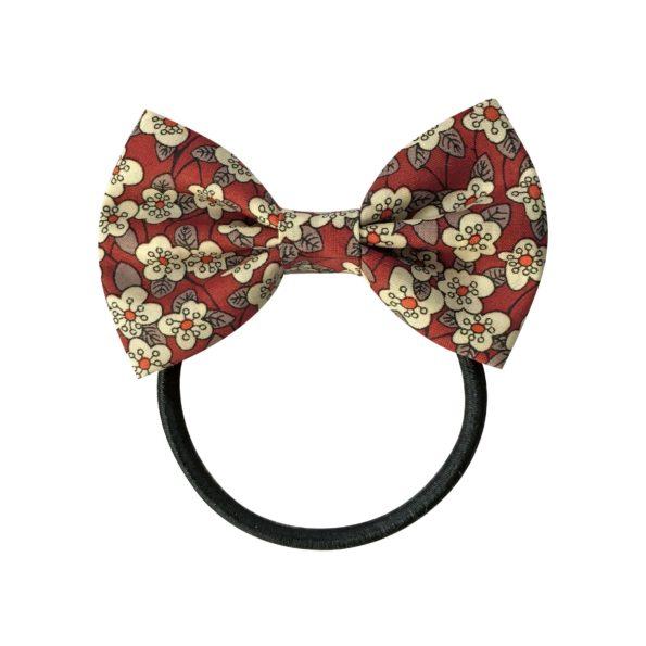 Small bowtie bow – elastic band – Liberty Ffion C