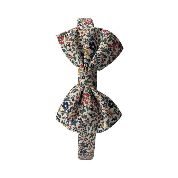 Large bowtie – hairband – Liberty Katie & Millie A