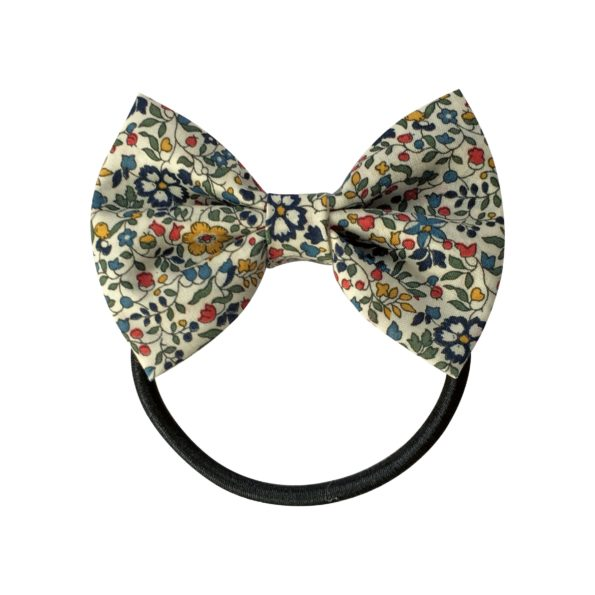 Small bowtie bow – elastic band – Liberty Katie & Millie A