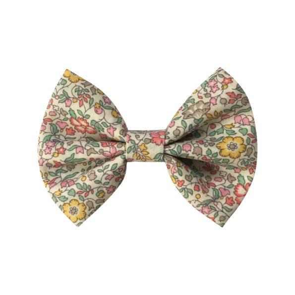 Small bowtie bow – alligator clip – Liberty Katie & Millie B
