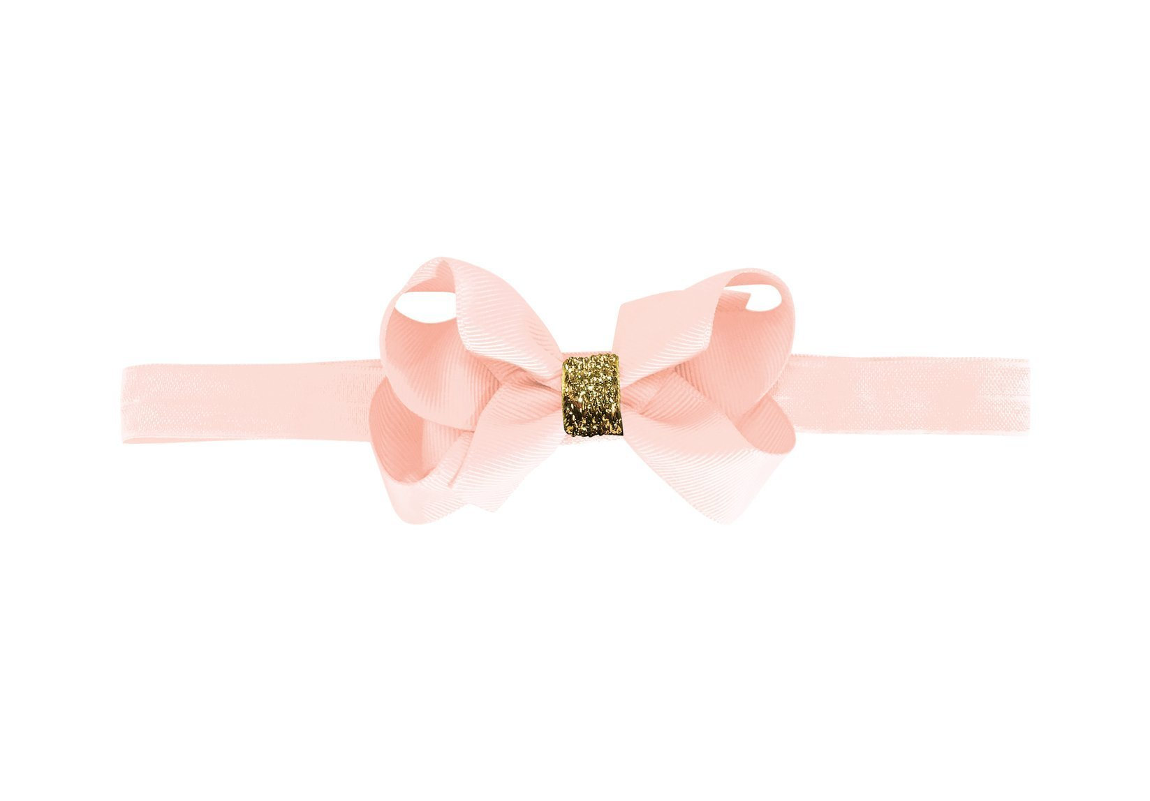 Medium Boutique Bow with Gold Middle
