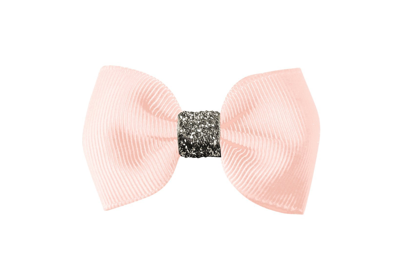Small Bowtie Bow with Silver Middle