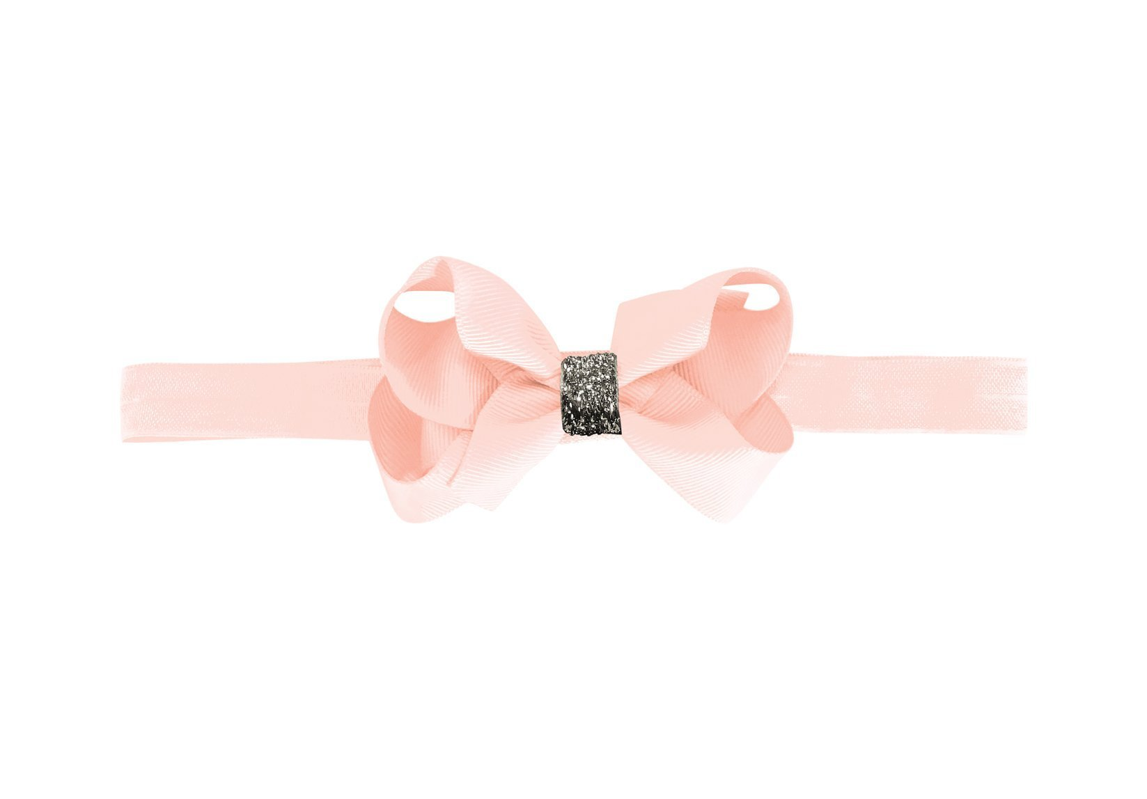 Medium Boutique Bow with Silver Middle