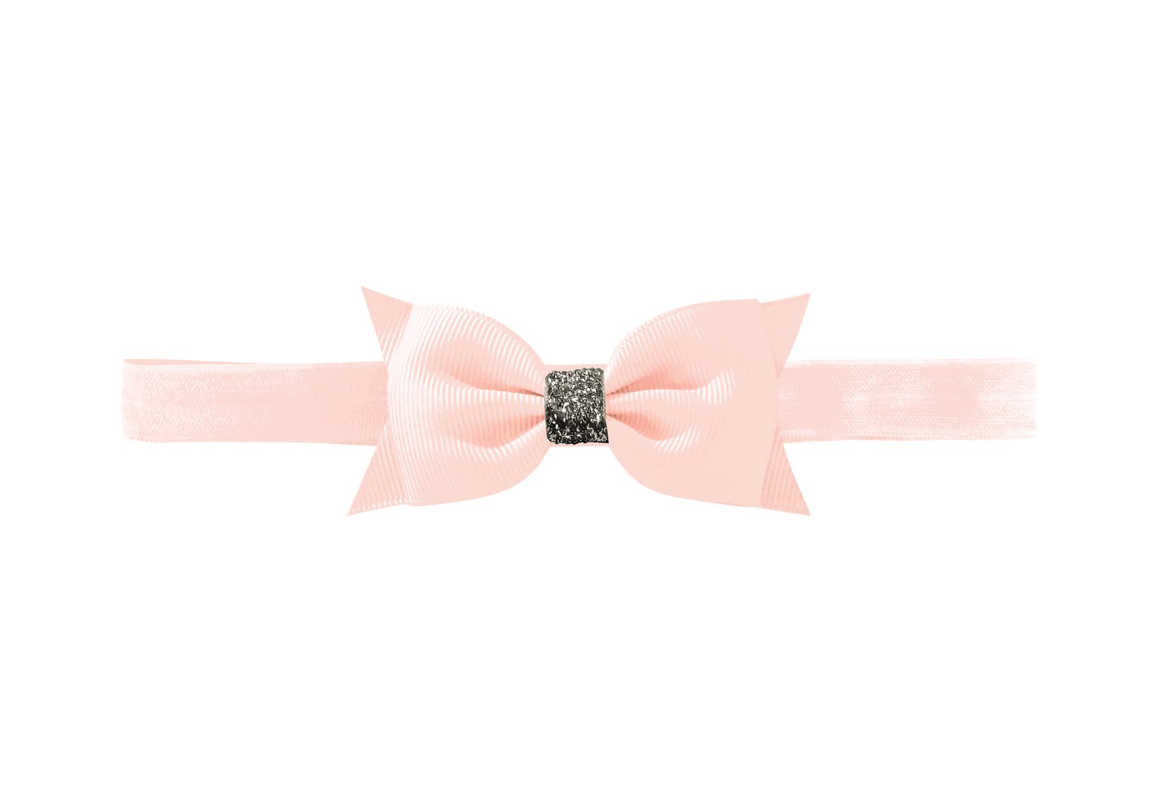 Double Bowtie Bow with Silver Middle