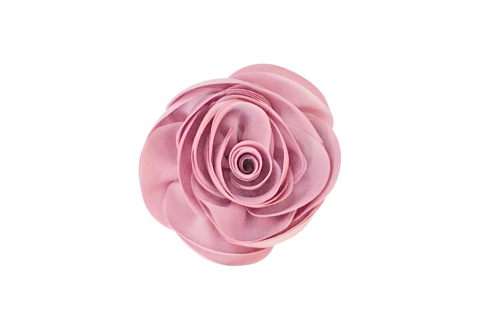 Rose – Alligator Clip – Satin Collection