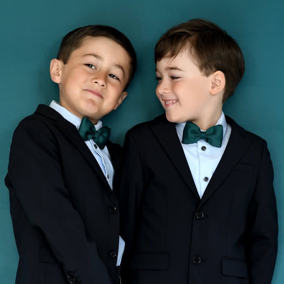 silk boy bow ties