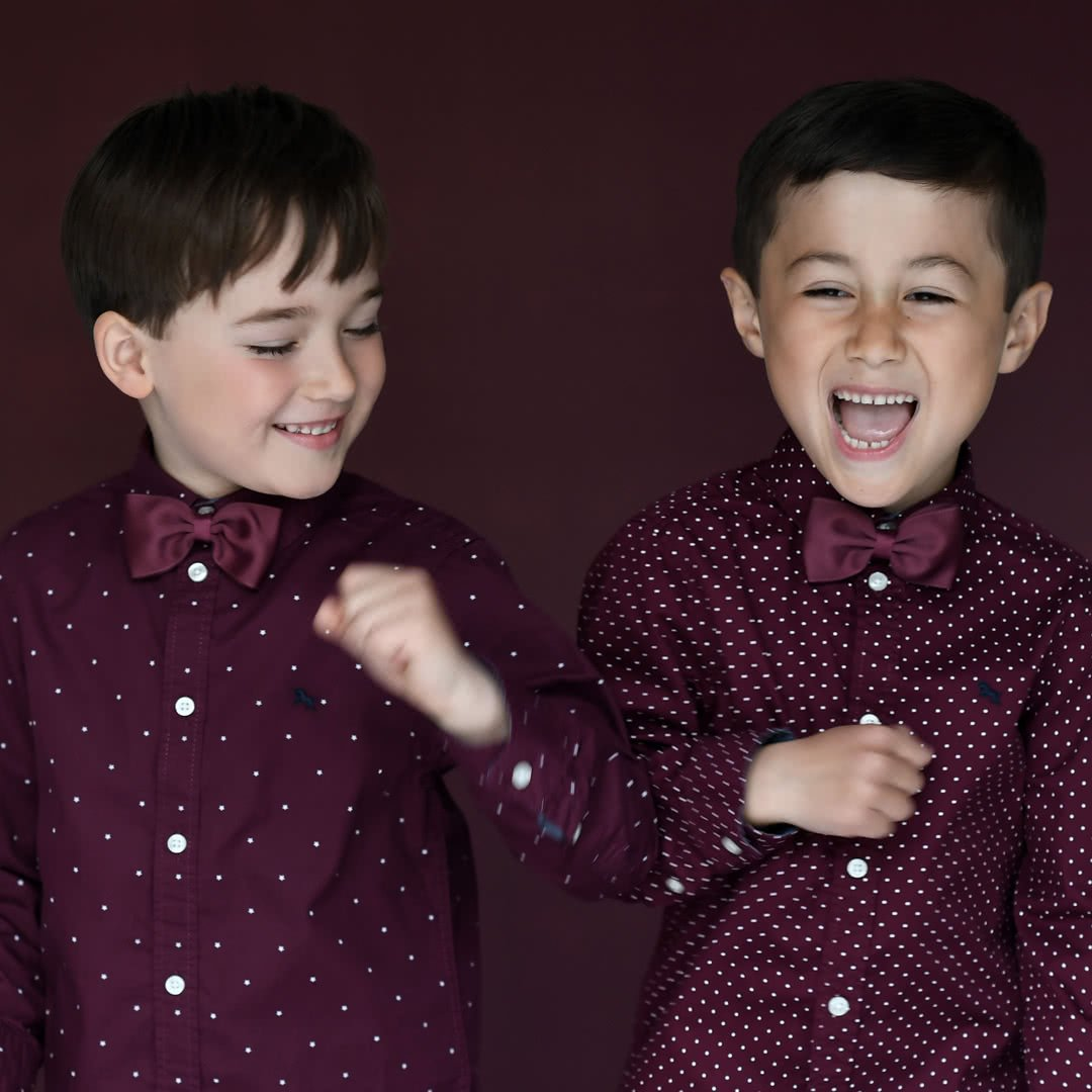 childrens bow ties silk