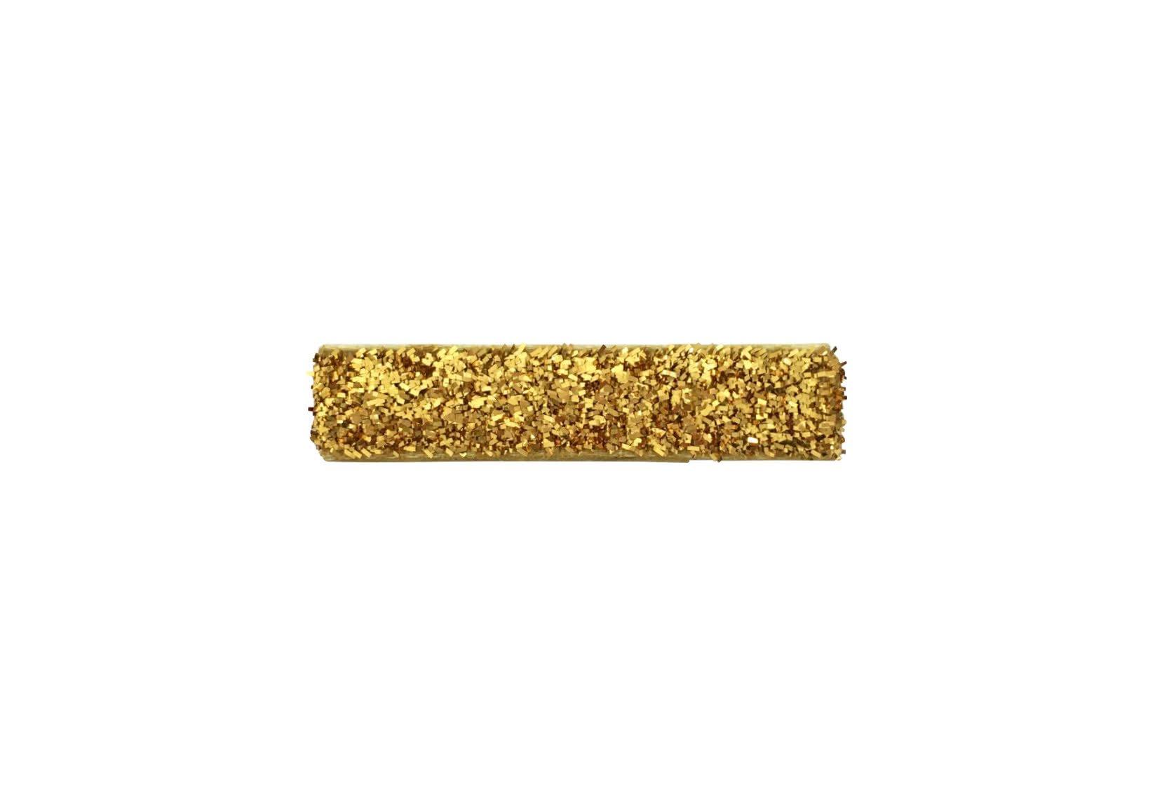 Small Gold Glitter Covered Alligator Clip – Gold Glitter Collection