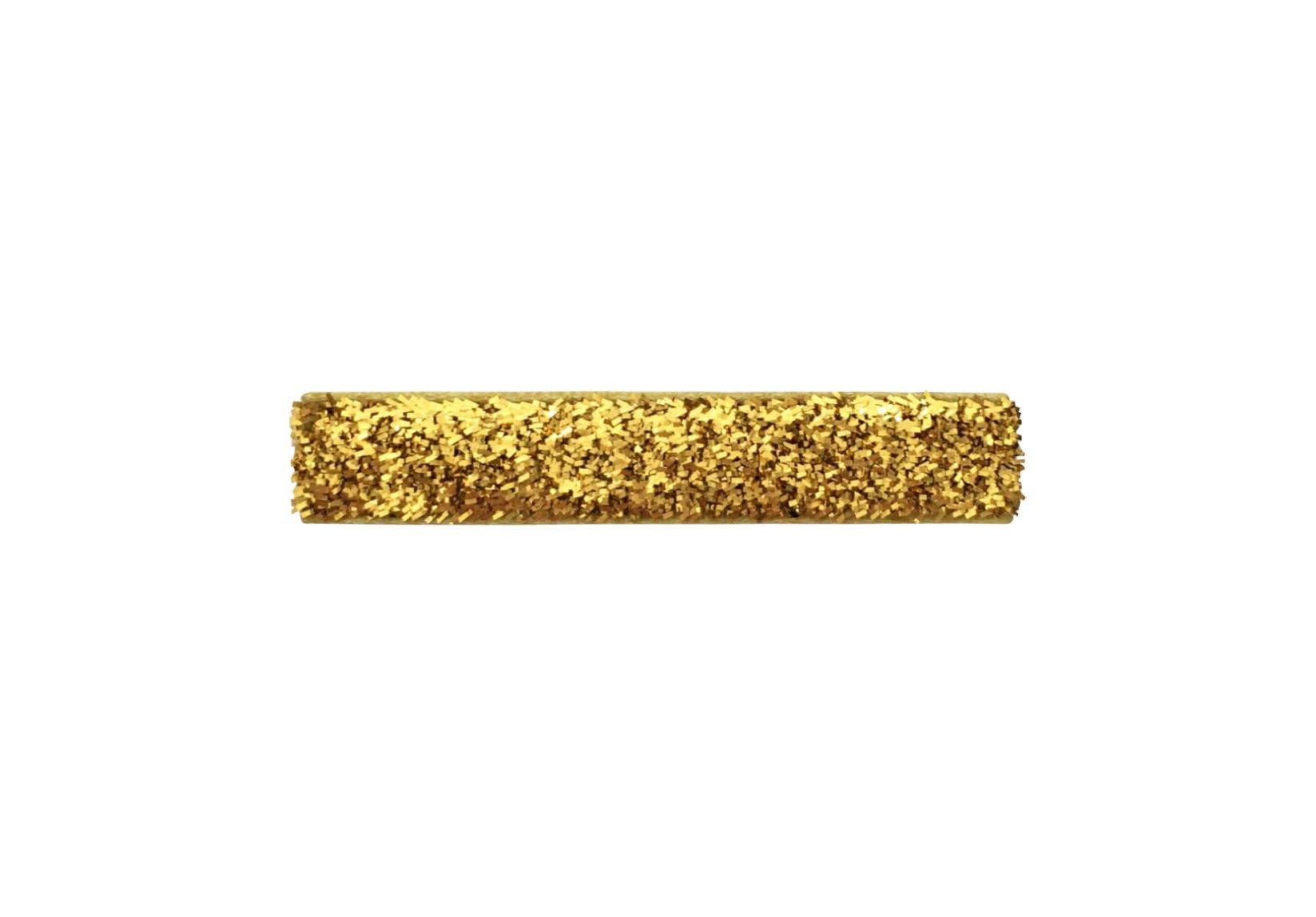 Medium Gold Glitter Covered Alligator Clip – Gold Glitter Collection